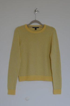 "Damen Pullover, Strickpullover, ""Gant"" Gr.S, gelb"