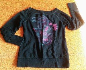 Damen Pullover Sweatshirt Gr.M in Schwarz von Tom Tailor Denim