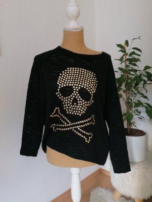 Damen Pullover * Totenkopf *