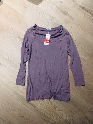 Damen Pullover, Tunika Longsleeve Shirt langarm  lila v Top Secret Gr. 40/L
