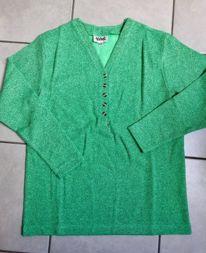 Knitted Sweater turquoise-green