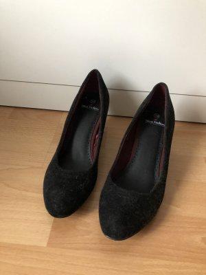 Damen Pumps Highheels 39 schwarz hohe Schuhe Absatzschuhe