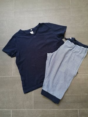 Ohne Pyjama light blue-dark blue