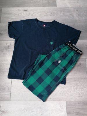 Engelbert Strauss Pyjama petrol-groen