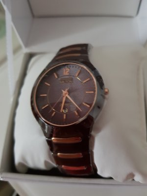 Analog Watch gold-colored-brown
