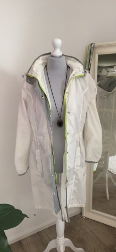 Carry Formal Raincoat white-lime-green polyester
