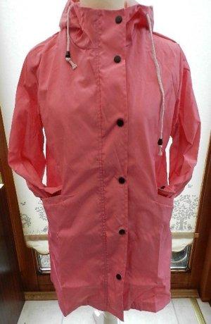 Manteau de pluie rose fluo