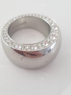 Damen Ring Bandring von DKNY mit Steinchen