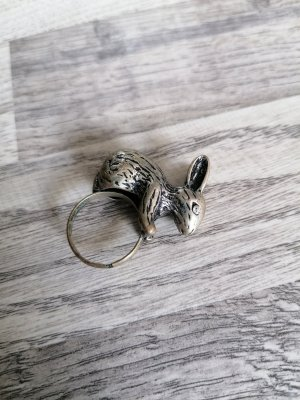 Bijou Brigitte Statement Ring silver-colored