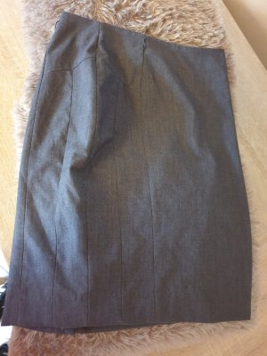 H&M Linen Skirt grey