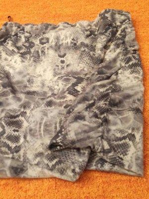 Asymetryczna spódniczka beżowy-brązowy
