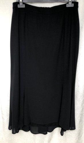 Hermann Lange Godet Skirt black