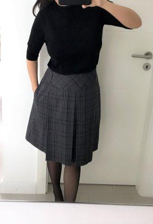 Aniston Asymmetrische rok grijs-zwart