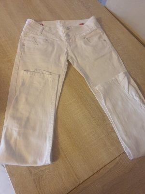 Kbk Pantalone a sigaretta bianco