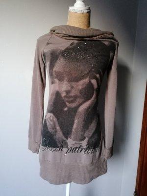 Damen Rollkragen Pullover (lang)
