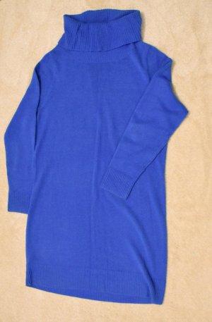 Cols de blouses bleu fluo polyester
