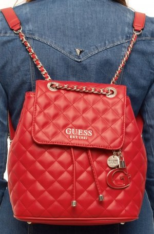 Guess School Backpack red