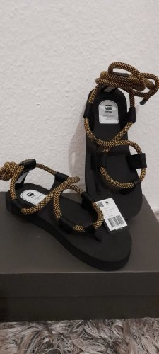 G-Star Raw Comfort Sandals black-gold-colored