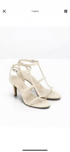 b.p.c. Bonprix Collection Toe-Post sandals oatmeal