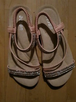 Outdoor Sandals rose-gold-coloured