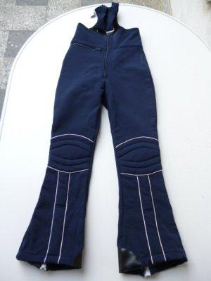 Snow Pants blue-white mixture fibre