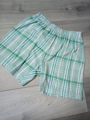 Bexleys Shorts white-turquoise