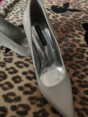 Zapatos de marinero color plata