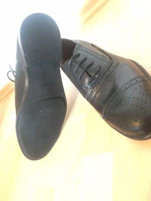 Zara Zapatos Budapest negro Cuero