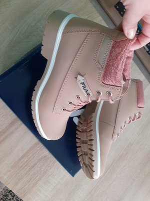 Desert Boots rose-gold-coloured