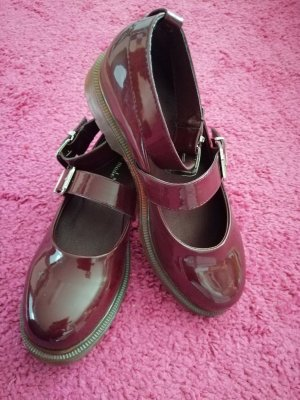 Super Mode Chaussures Mary Jane bordeau