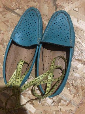 Buty wciągane turkusowy