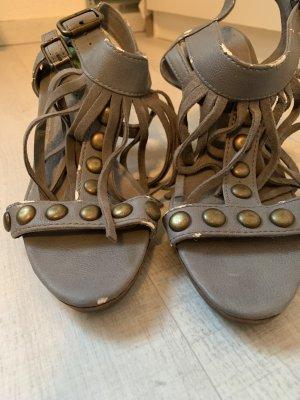 edc Lace-up Pumps grey