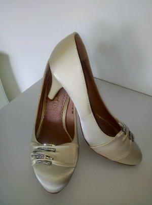 Jumex Heel Boots oatmeal