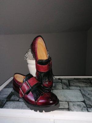 Melvin & hamilton Wingtip Shoes black-bordeaux