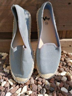 VTY Mocasines azul pálido