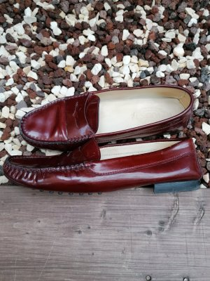 Tods Moccasins carmine