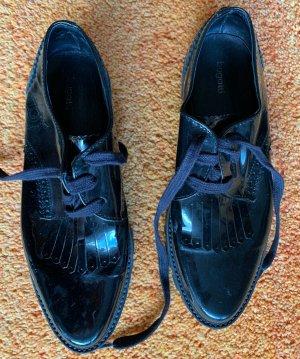Bugatti Slip-on noir cuir
