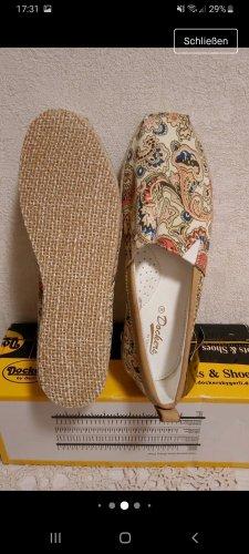 Damen Schuhe Espadrilles Ballerinas Halbschuhe Slipper  Dockers  38 Gr Neu mit Etikett
