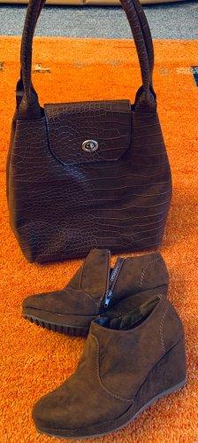 Damen Schuhe Knöchel Schuhe Gr.38 in Braun von Graceland