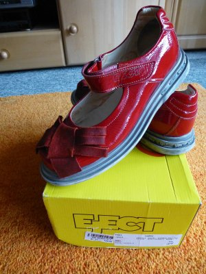 Eject Scarpa Mary Jane rosso Pelle