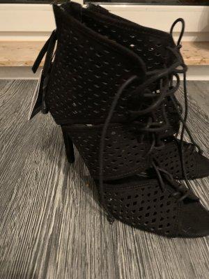 Zara Aanrijg Pumps zwart