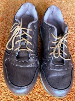 Damen Schuhe Sneaker Gr.39 in Goldgrau von Graceland