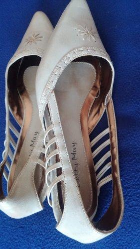Damen Schuhe Sommer Ballerina Gr.39 in Beige von Betty May