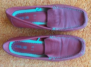 Damen Schuhe Sommer Mokassins Gr.38 in Rot von Cherokee NW