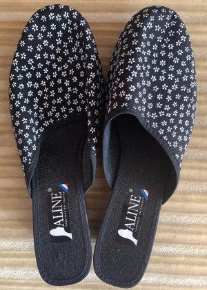 Damen Schuhe Sommer Textil Gr.39 in Schwarz von Aline NW