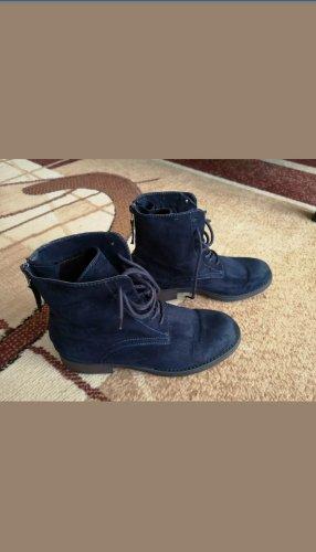 Graceland Western Booties dark blue