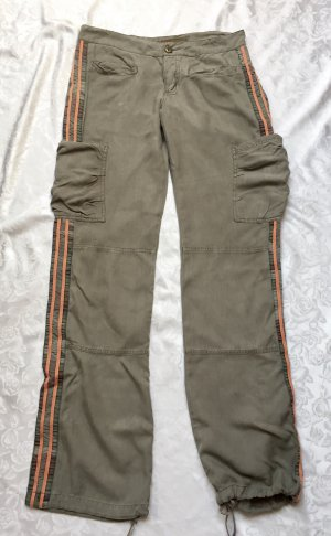 Da-Nang Pantalón de color caqui multicolor