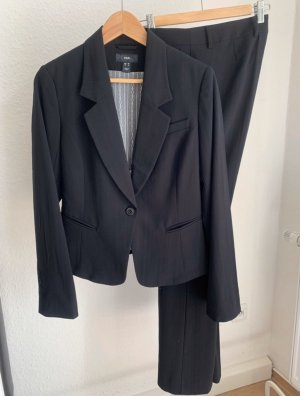 Damen Set Anzug 2-teilig Blazer Hose