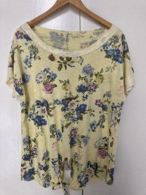 aus Italy Shirt met print sleutelbloem