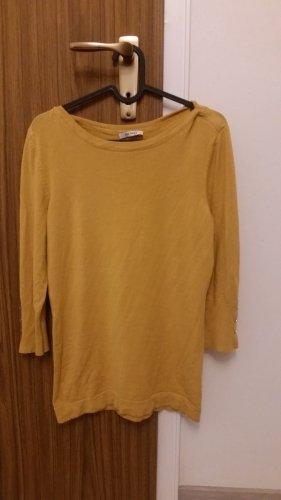 Orsay Boatneck Shirt dark yellow viscose